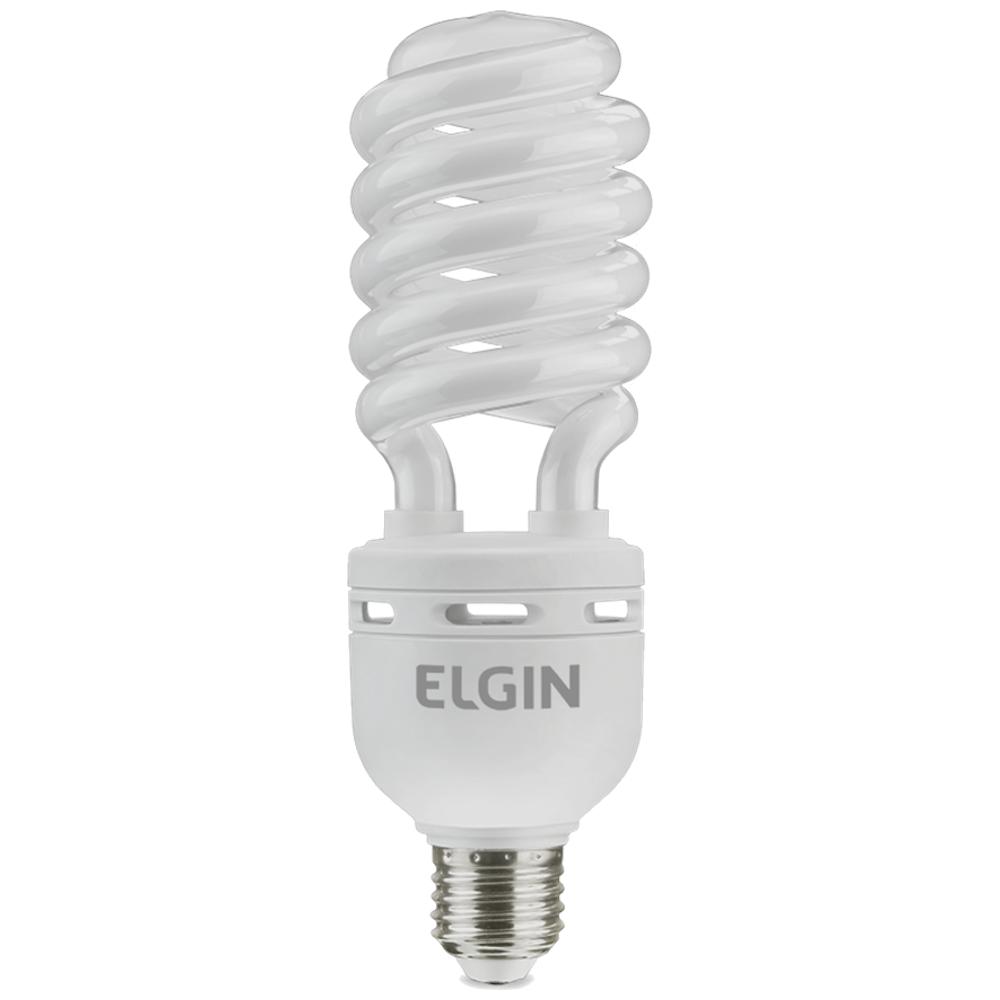 Lâmpada Espiral 32W 127V Branca 6400K Elgin