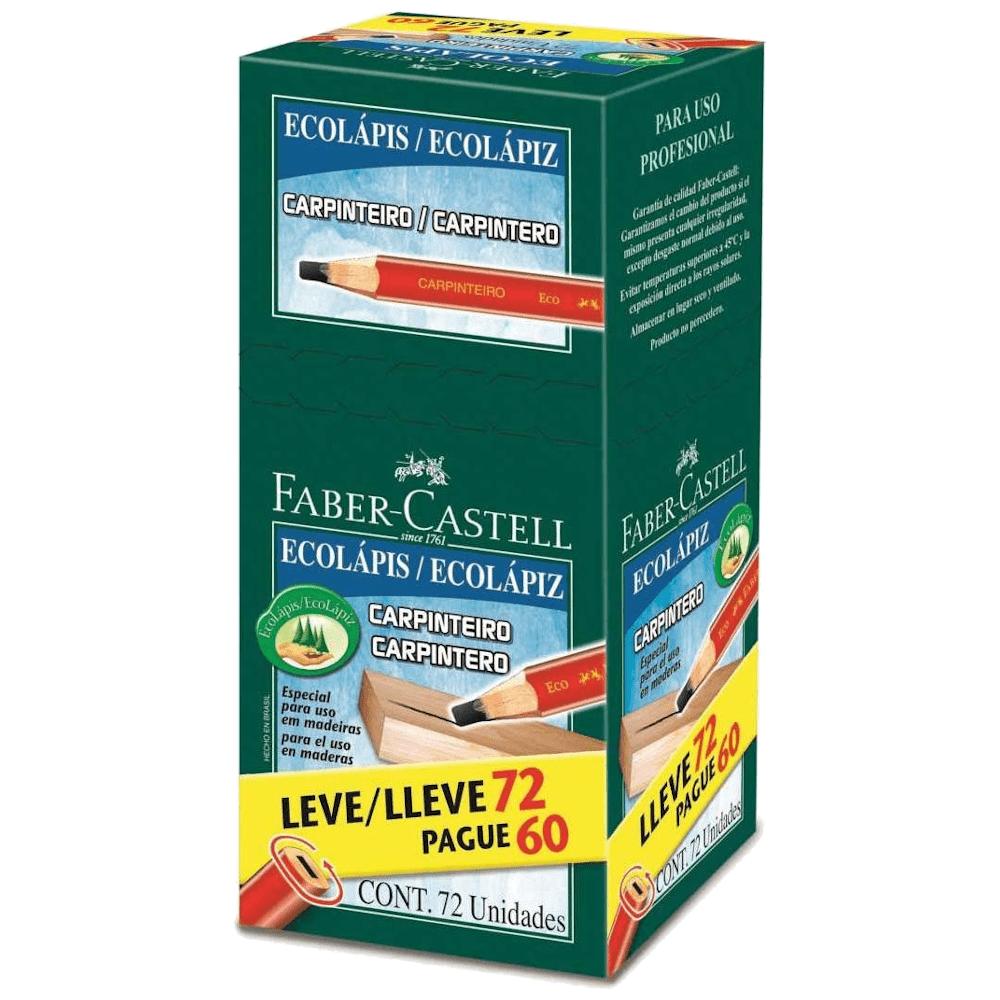 Lápis Carpinteiro 72 Unidades Faber Castell