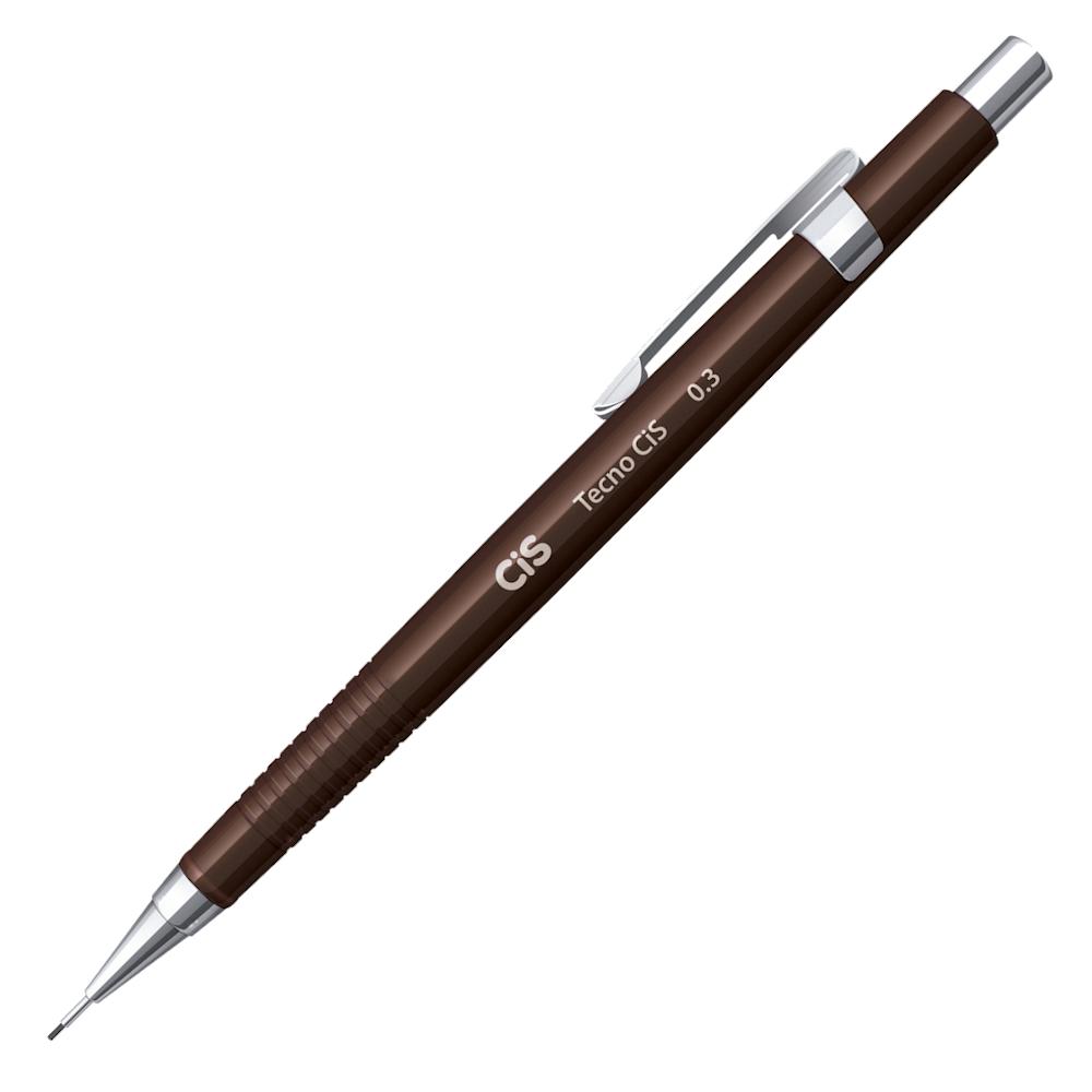 Lapiseira CIS 0.3mm TecnoCIS Marrom