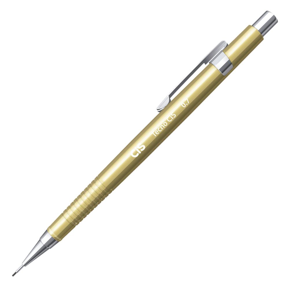 Lapiseira CIS 0.7mm TecnoCIS Ouro