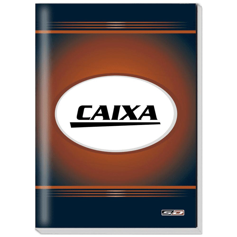 Livro Caixa São Domingos 1/4 100 Folhas 154x216mm