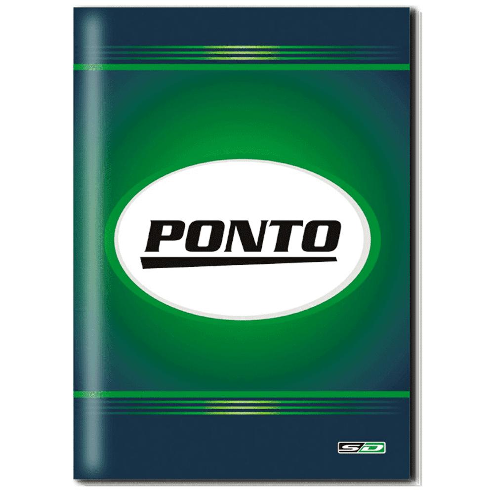 Livro Ponto São Domingos 1/4 160 Folhas 154x216mm