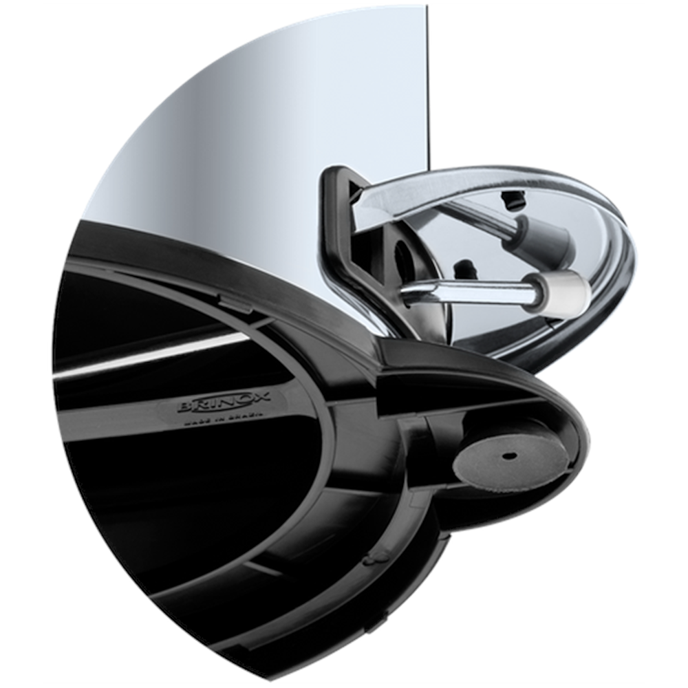 Lixeira Inox Pedal e Balde 20 Litros Brinox