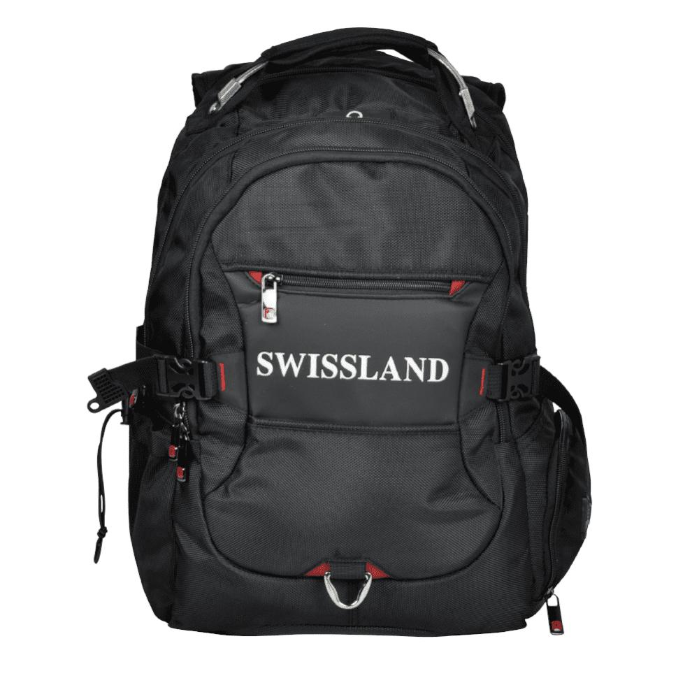 Mochila Executiva Swissland YS28001 Preta