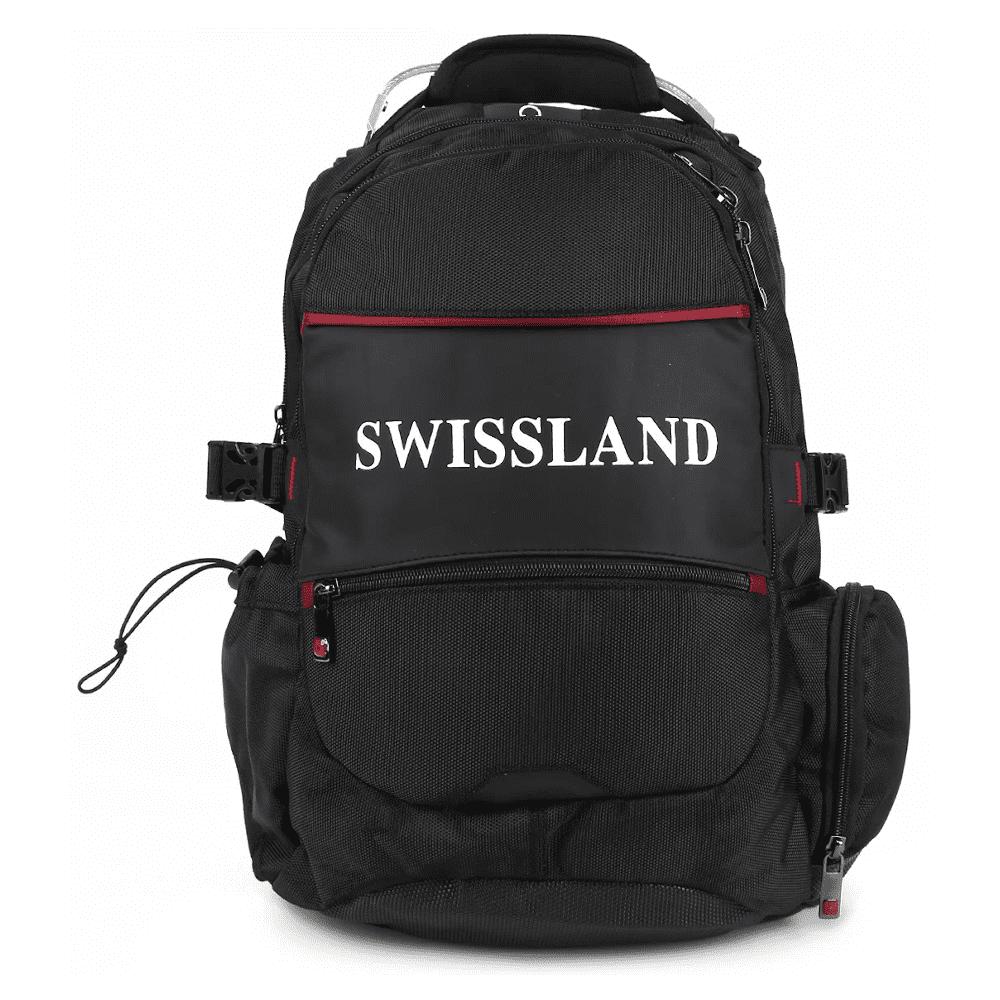 Mochila Executiva Swissland em Poliester YS28002 Preta