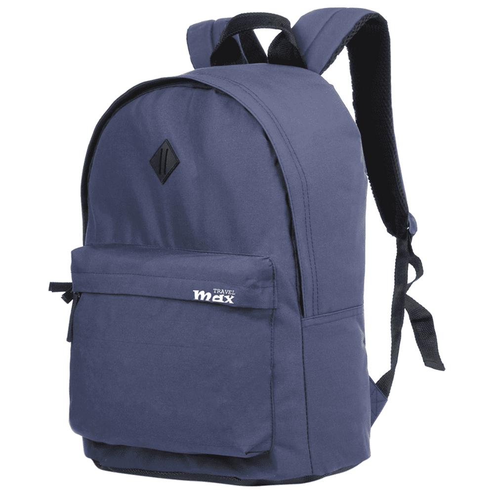 Mochila Juvenil Travel Max MB-6600A Azul Color Bolt