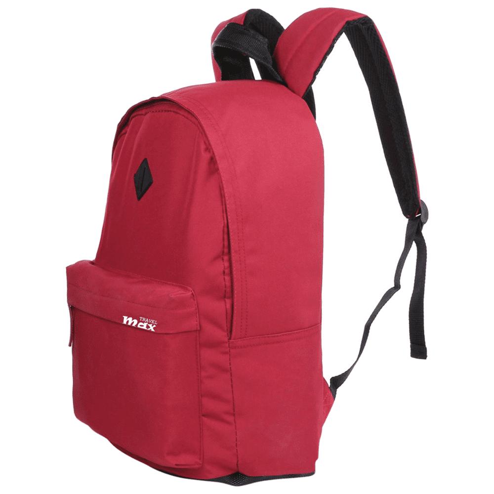 Mochila Juvenil Travel Max MB-6600V Vermelha Color Bolt