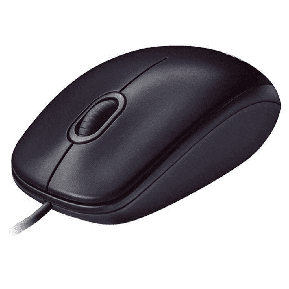 Mouse Optico Logitech M100 USB Preto