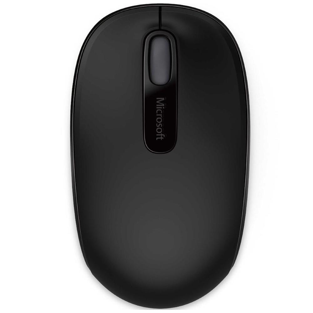 Mouse Wireless Microsoft Mobile 1850 preto U7Z-00008