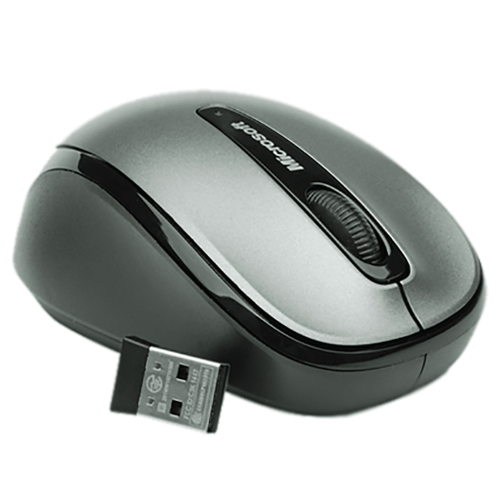 Mouse Wireless Microsoft Mobile 3500 Cinza GMF-00380