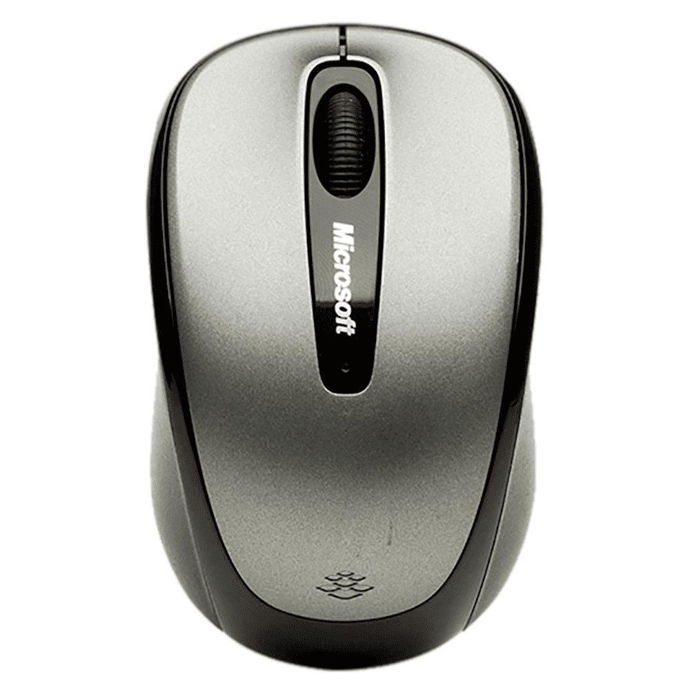 Mouse Wireless Microsoft Mobile 3500 Cinza GMF-00380