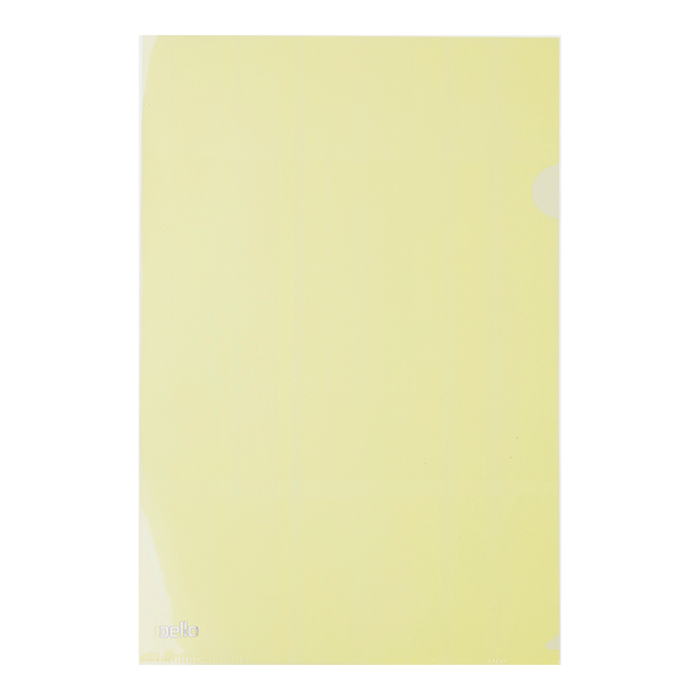 Pasta L Ofício Amarela 10 Unidades Dello