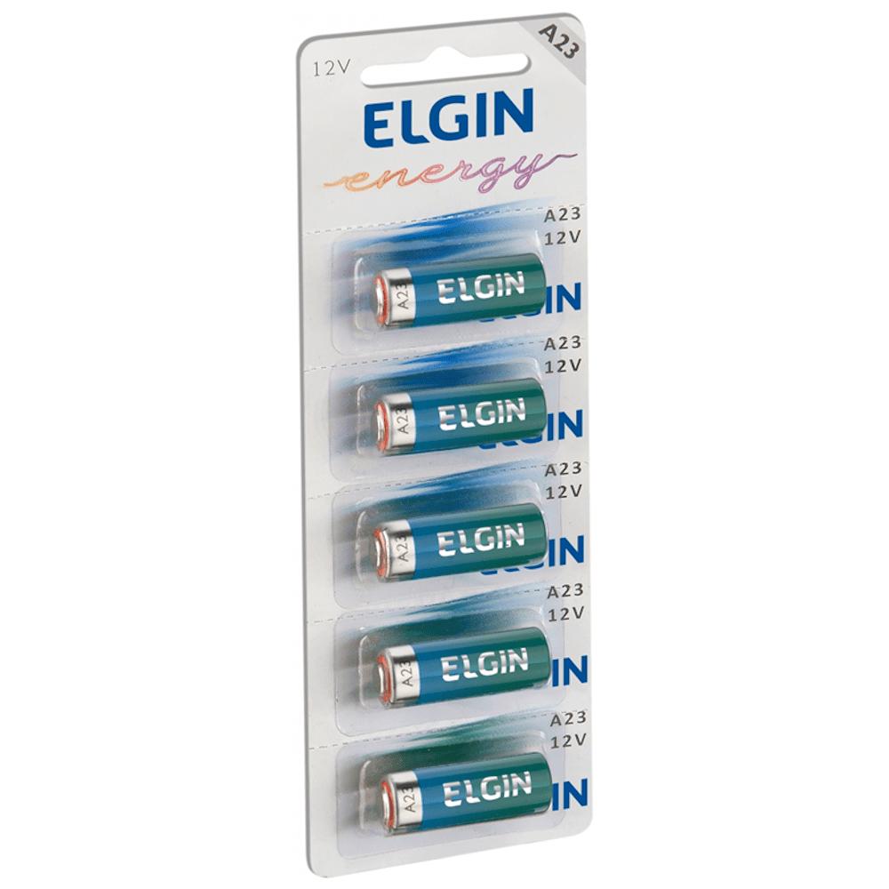 Pilha Elgin A23 12V Cartela 05 Unidades