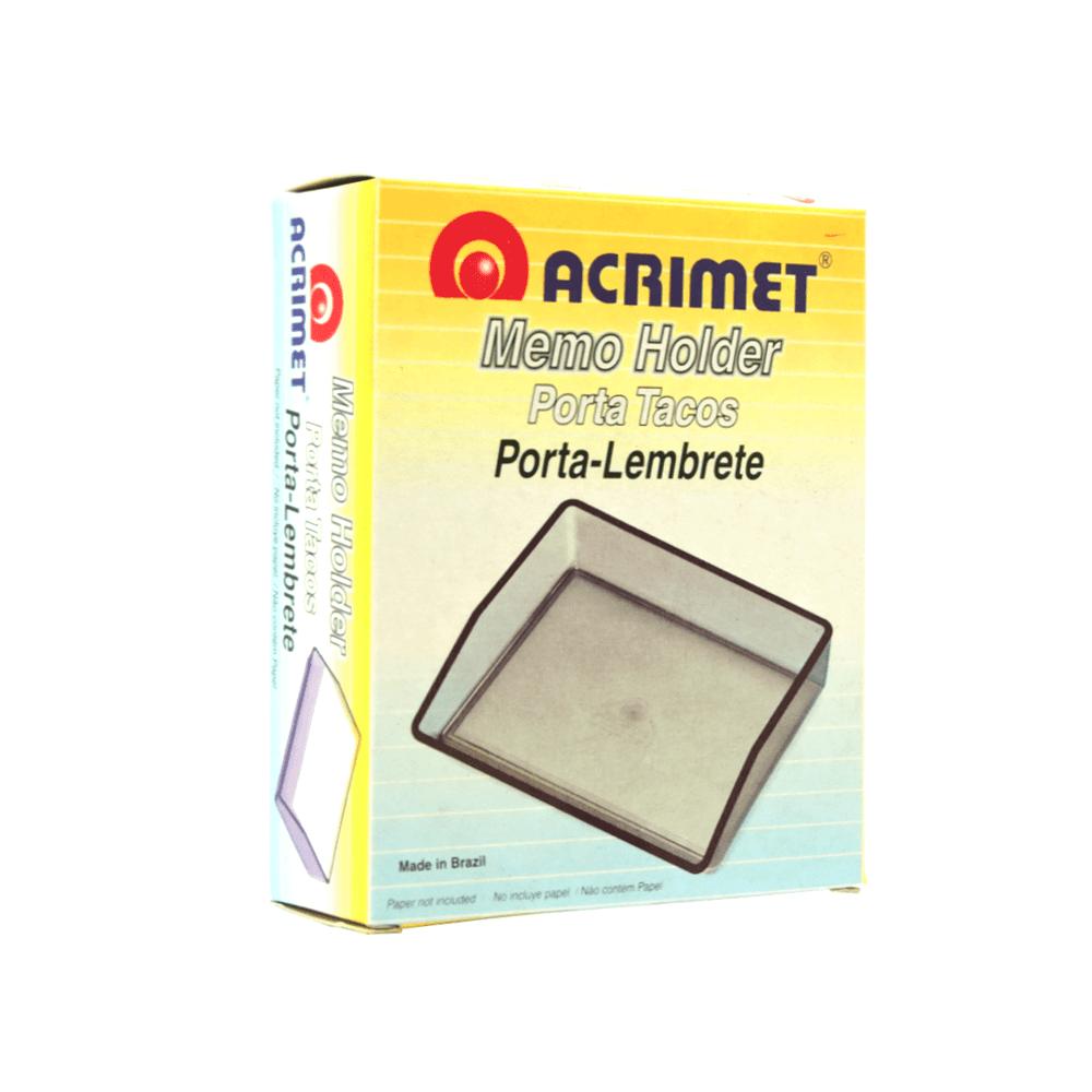 Porta lembrete Acrimet Fumê 937.1