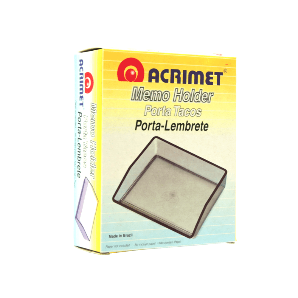 Porta lembrete Acrimet Cristal 937.3