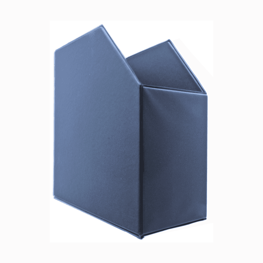 Porta Revistas PVC Lions 260x350x100mm Azul 6105