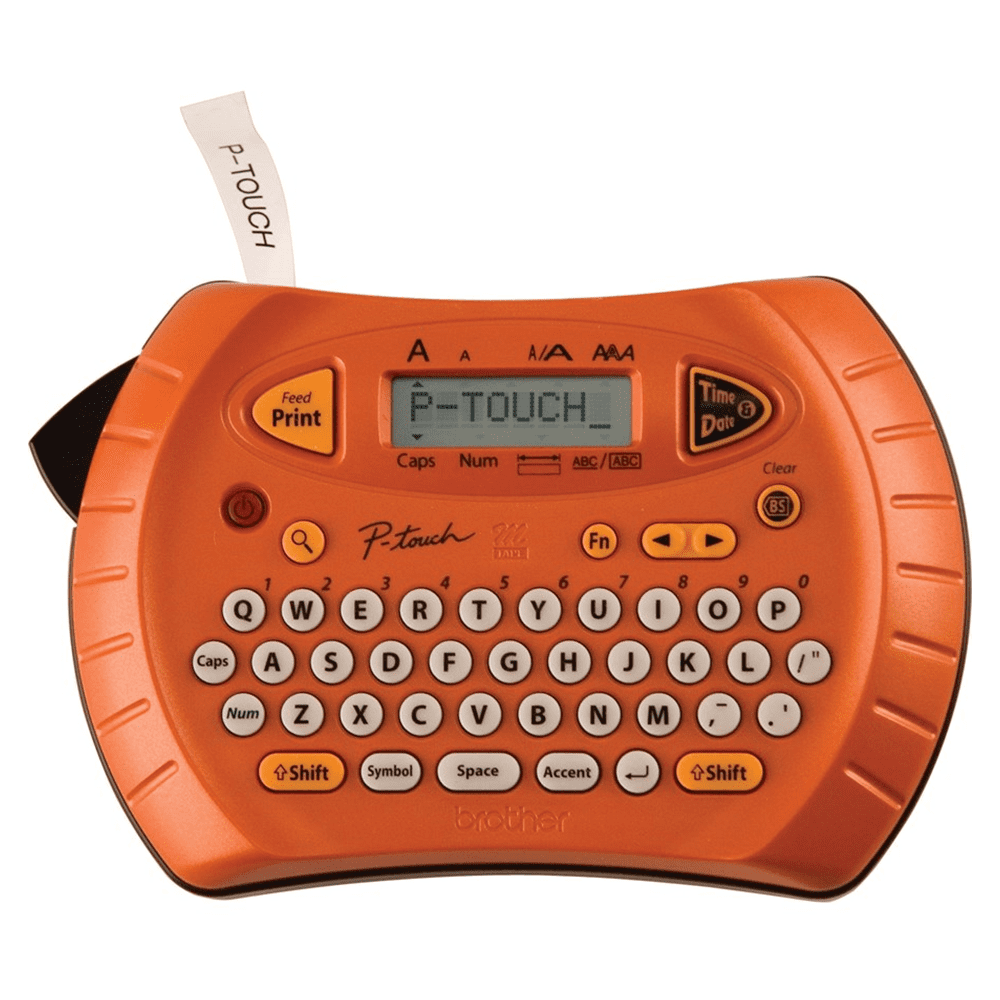 Rotulador Eletrônico Brother PT-70 Laranja