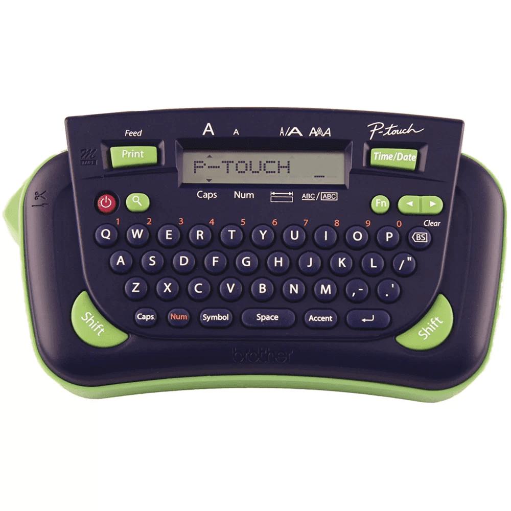 Rotulador Eletrônico Brother PT-80 Azul/Verde