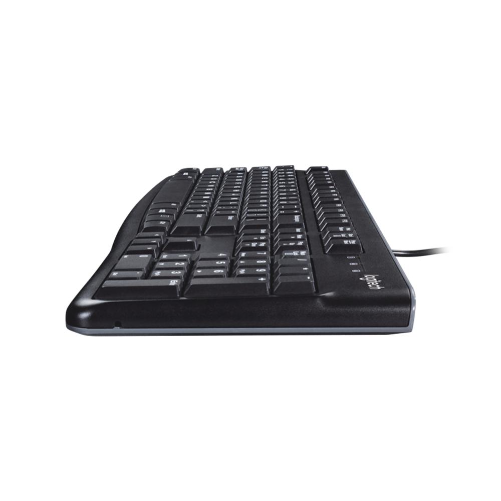 Teclado Logitech K120 USB preto