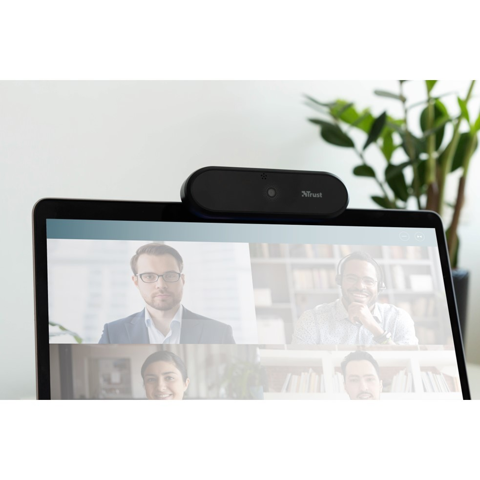 Webcam Trust Tyro Full HD 1080p 30fps C/ Tripé