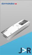 DORMA - BTS 65 Completa - Mola de piso para porta de Vidro até 100 kg