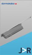 DORMA -  ITS 900 Mola hidráulica aérea de embutir com calha deslizante