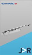 DORMA - ITS 96 Mola hidráulica aérea de embutir