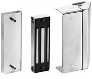 DRIGON - Advanced Fechadura de eletroimã com Suporte porta de vidro, acabamento em Inox