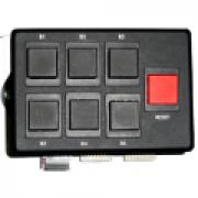 NICE LINEAR HCS - Módulo de botoeira 7 teclas