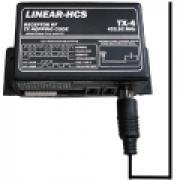 NICE LINEAR HCS - TX 4 A receptor para controle remoto de garagem