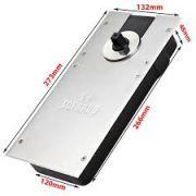 SOPRANO - P310 Completa - Mola de piso para porta de Vidro até 100 kg