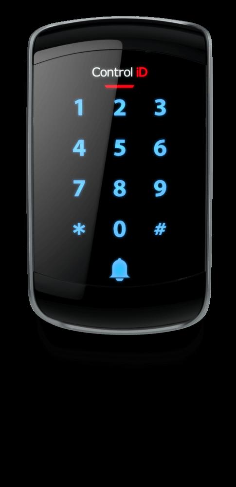 CONTROL ID Controlador de acesso com teclado e RFID ID Touch