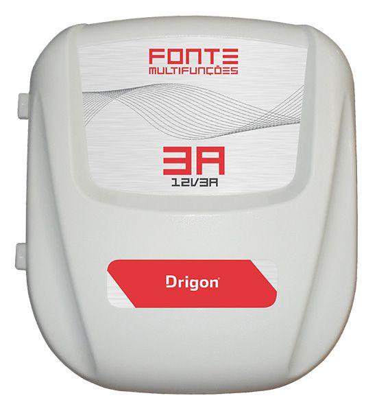 DRIGON - Fonte temporizada/no break 3 Ampére para eletroimã