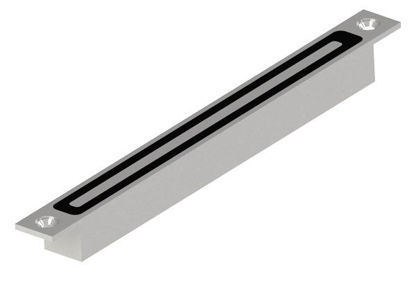 DRIGON - Linha Slim eletroimã de embutir - Inox Slim E 100