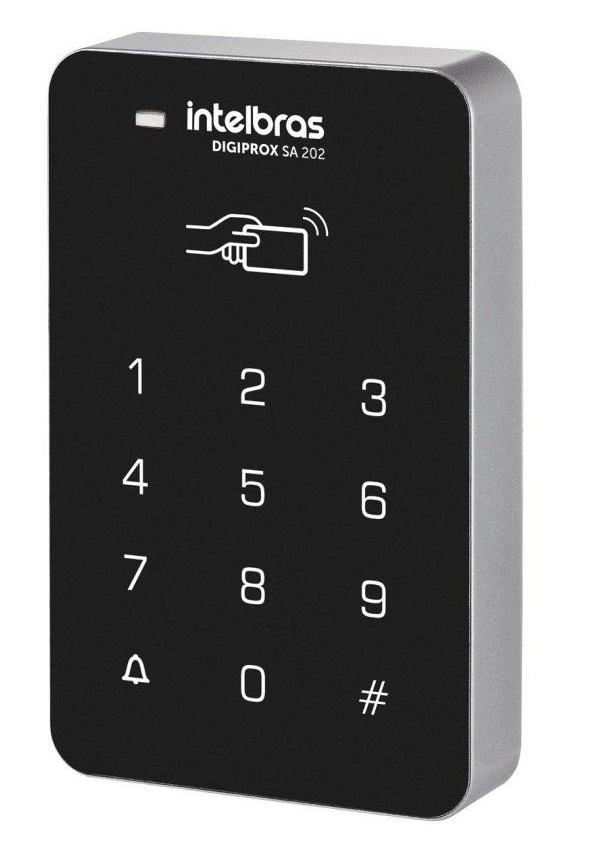INTELBRAS - SA 202 Controle de acesso senha e cartão