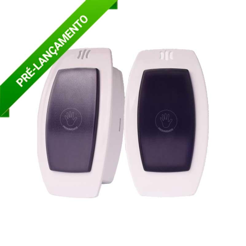 IPEC - Botoeira No-Touch de sobrepor parede