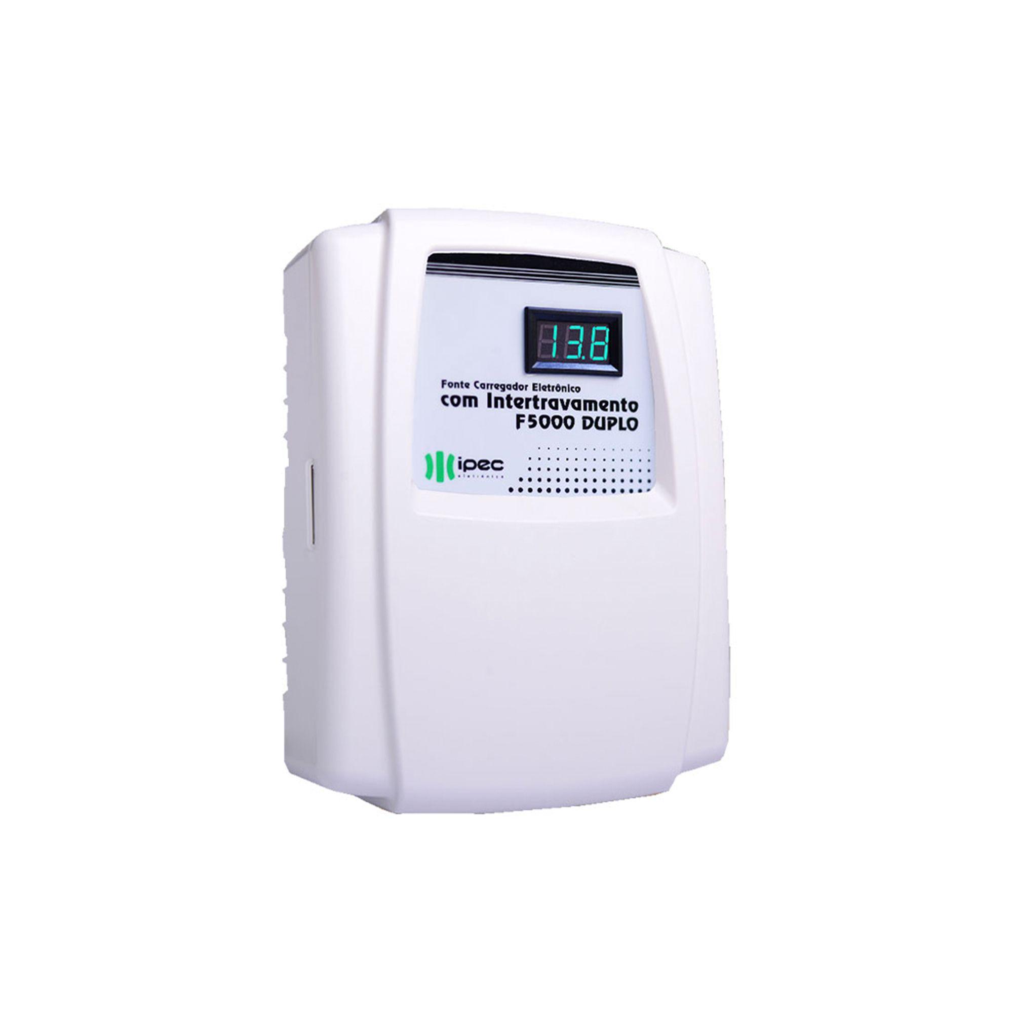 IPEC - F 5000 Fonte temporizada Carregadora para 2 eletroimãs com Intertravamento e controle remoto