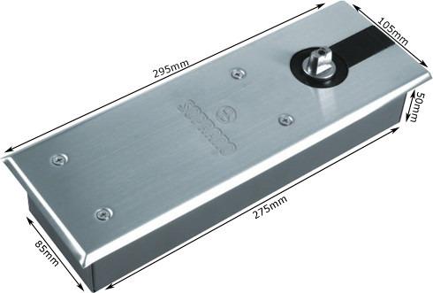 SOPRANO - P 330 Completa - Mola de piso para porta de Vidro até 120 kg