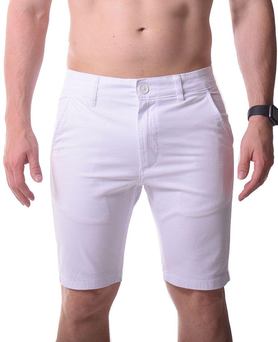 Bermuda Sarja Branca