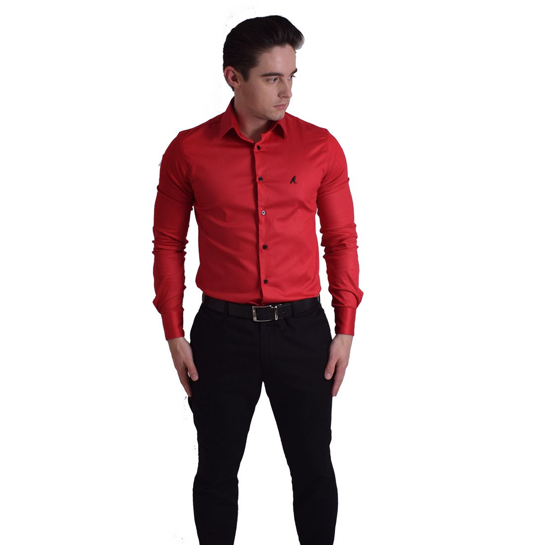 Camisa Social Vermelha