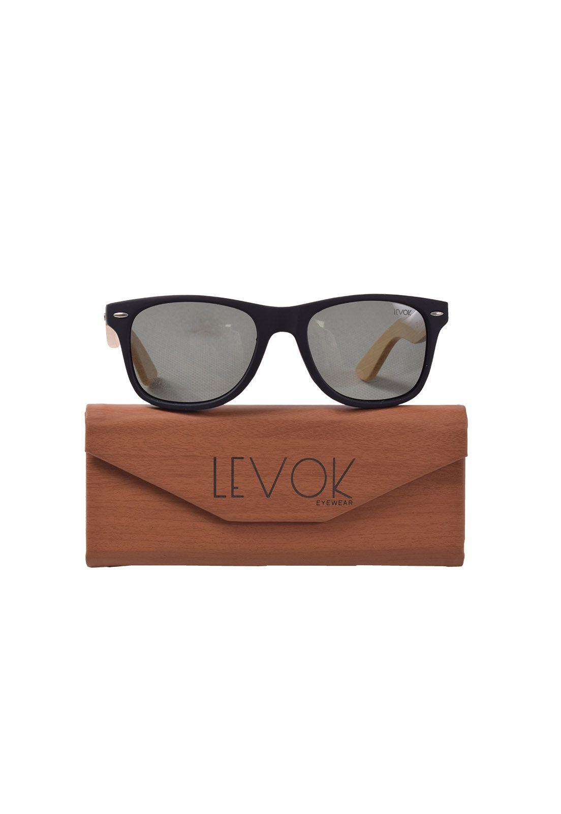 Óculos de Sol com armação madeira