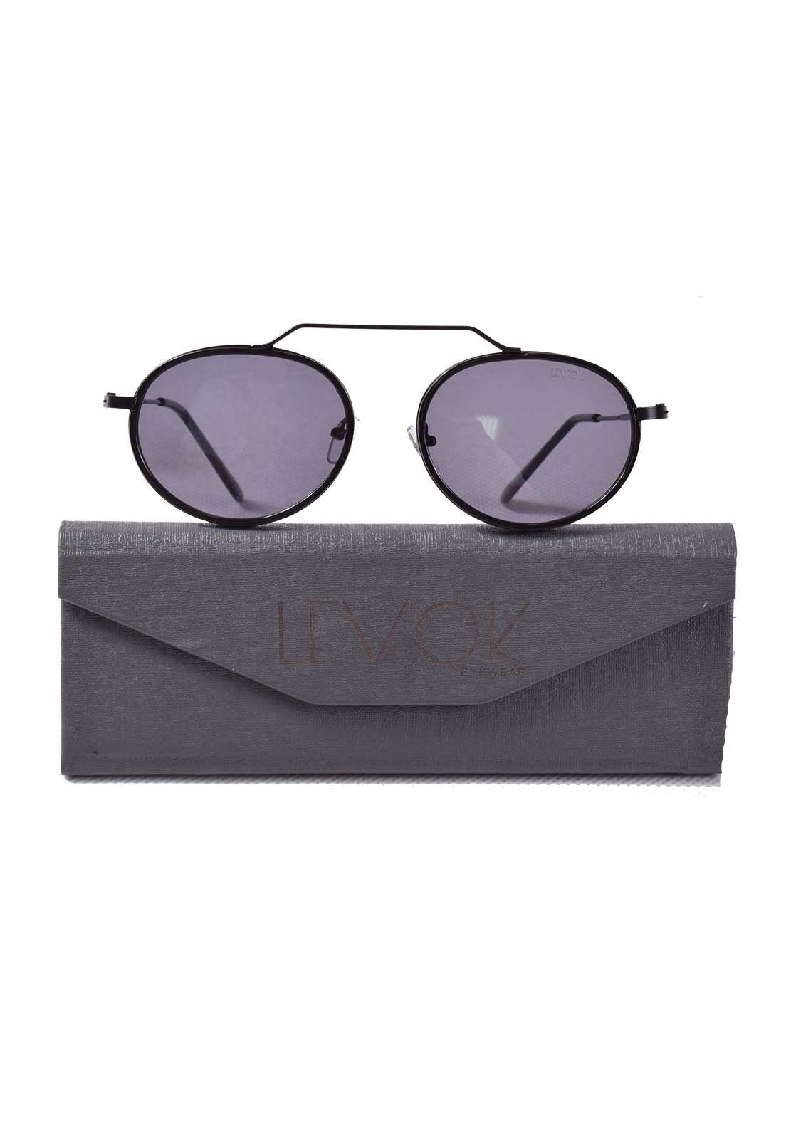 25003 - Oculos de Sol com armação preta fina