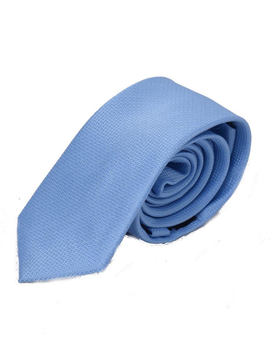 Gravata Azul Masculina Slim