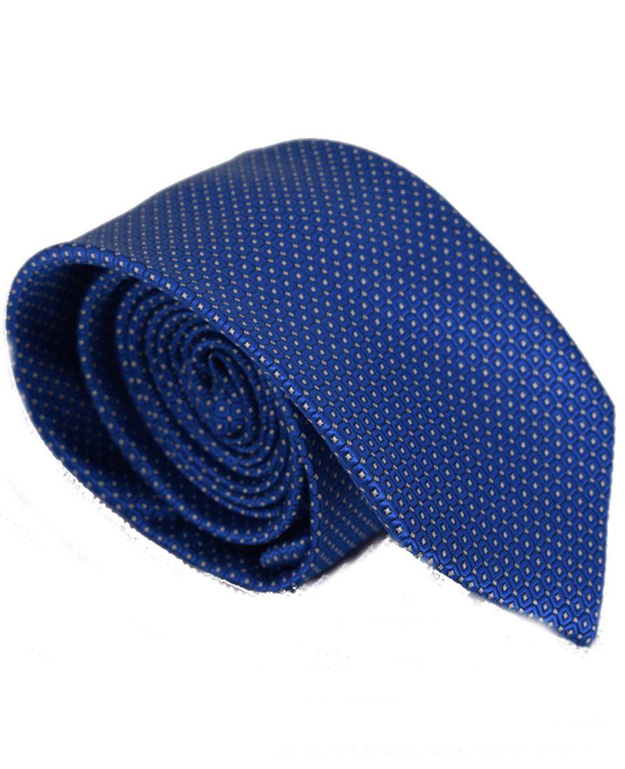 4010 - Gravata Azul Tradicional - LEVOK
