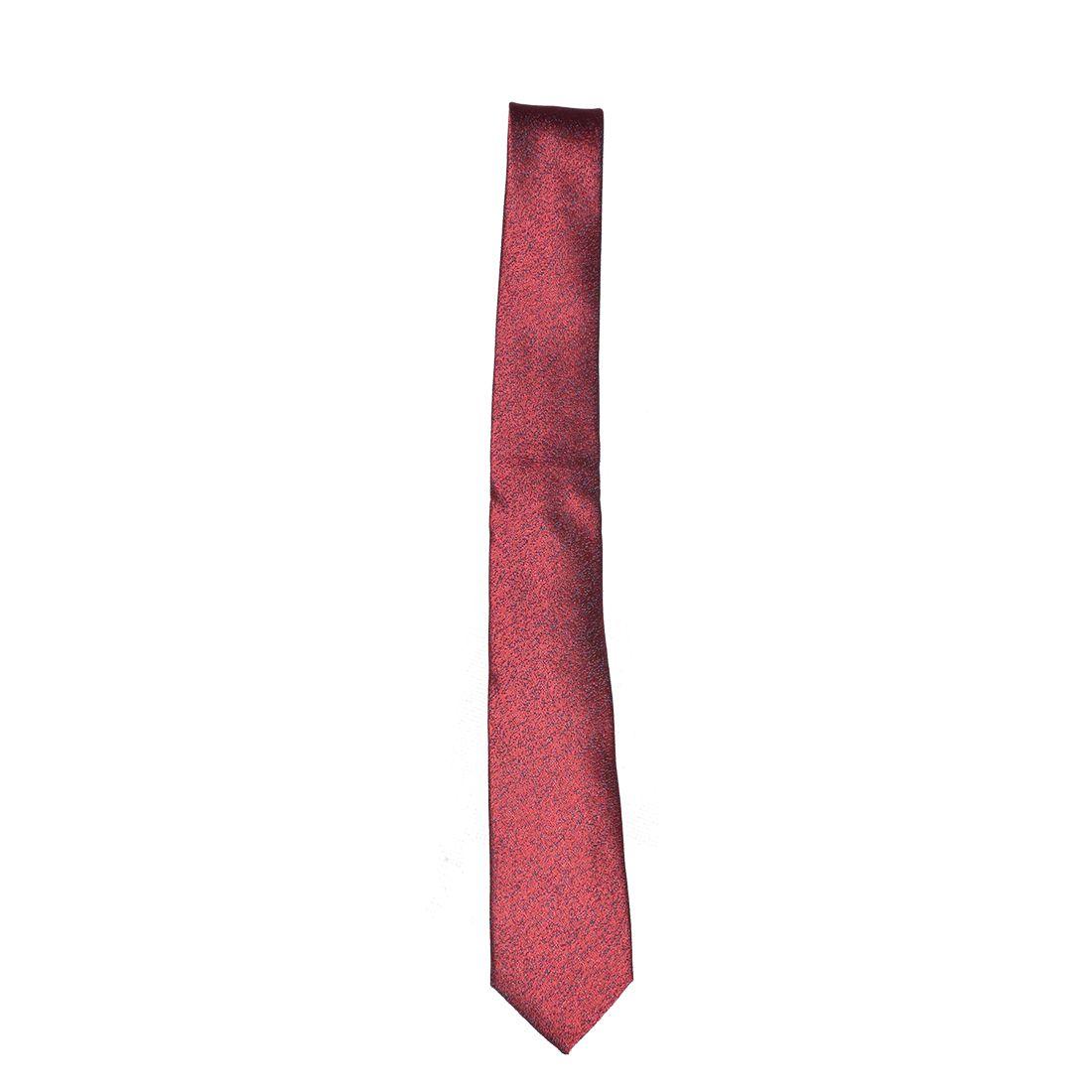 4018 - Gravata Bordo Composta Slim - LEVOK