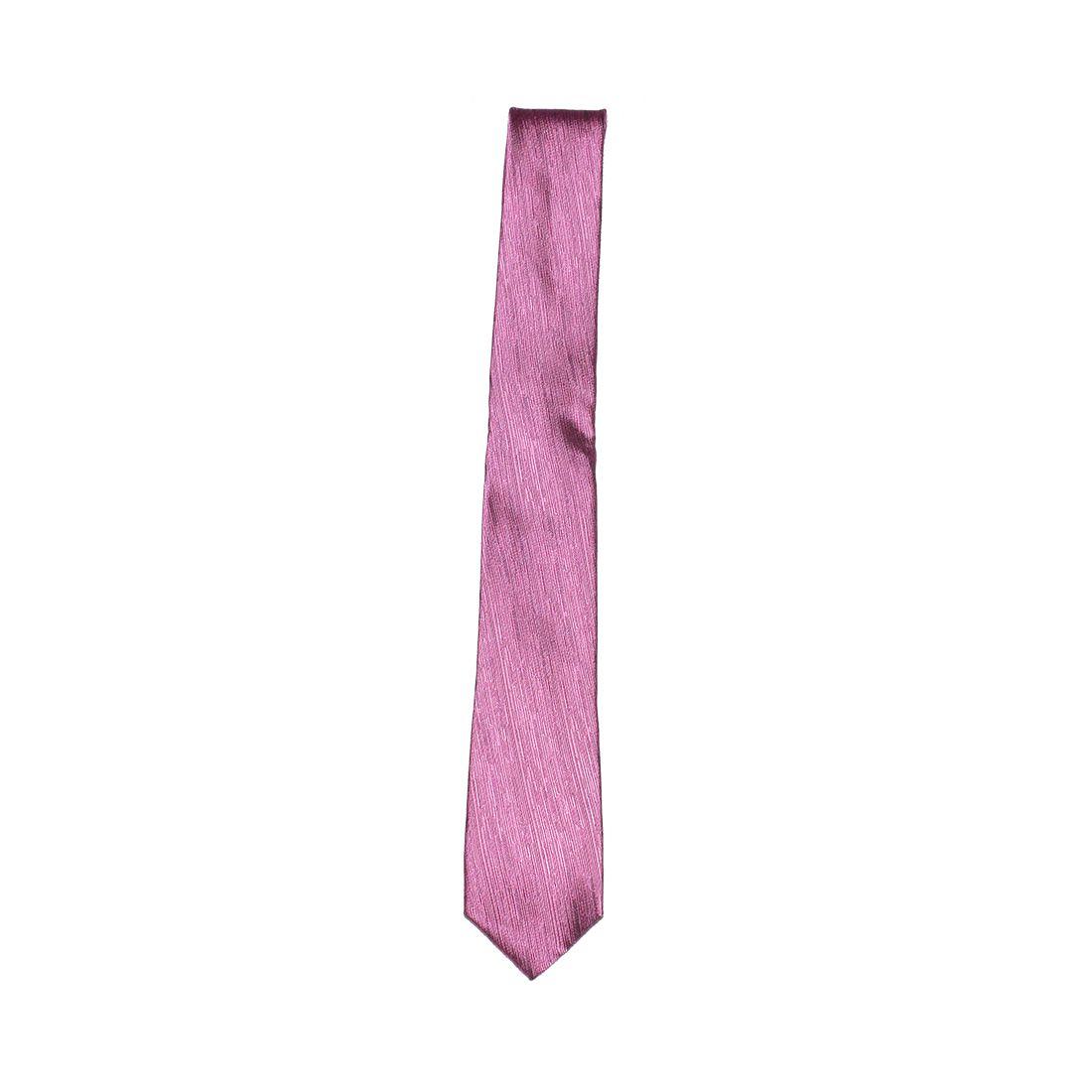 Gravata Masculina Rosa Slim