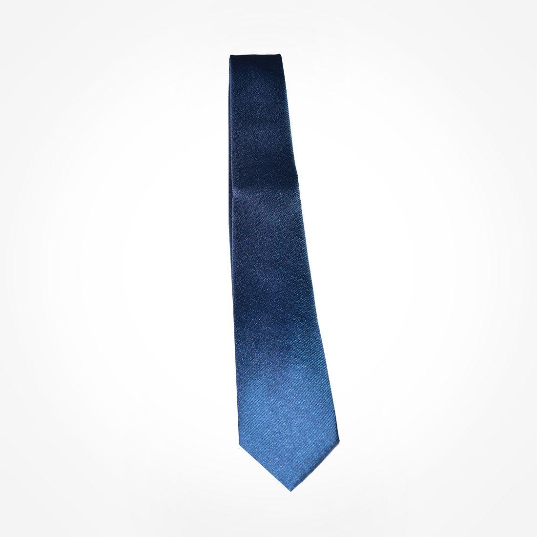 4021 - Gravata Azul Slim - LEVOK