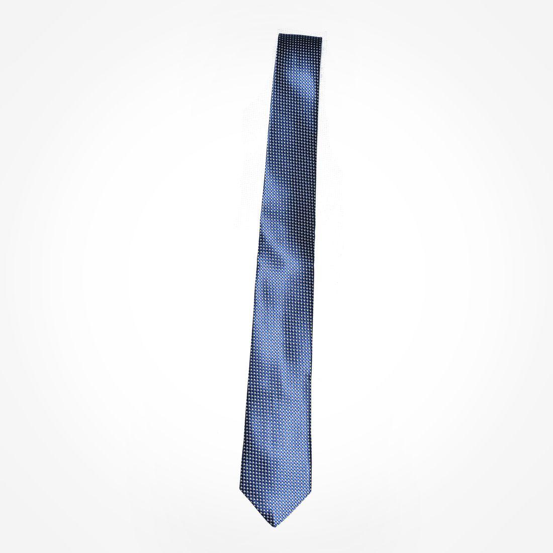 4024 - Gravata Azul Slim - LEVOK