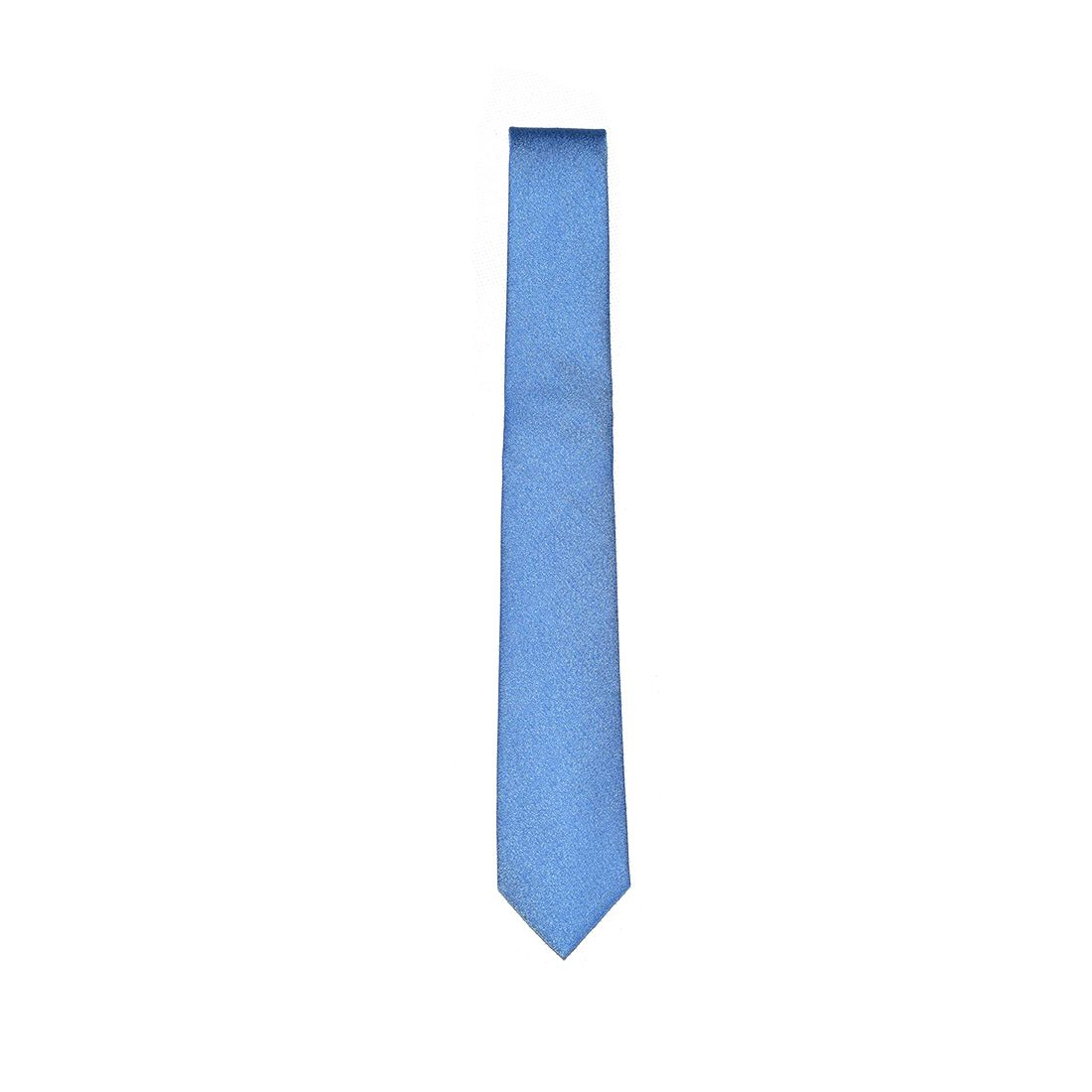 Gravata Azul Clara Masculina Slim
