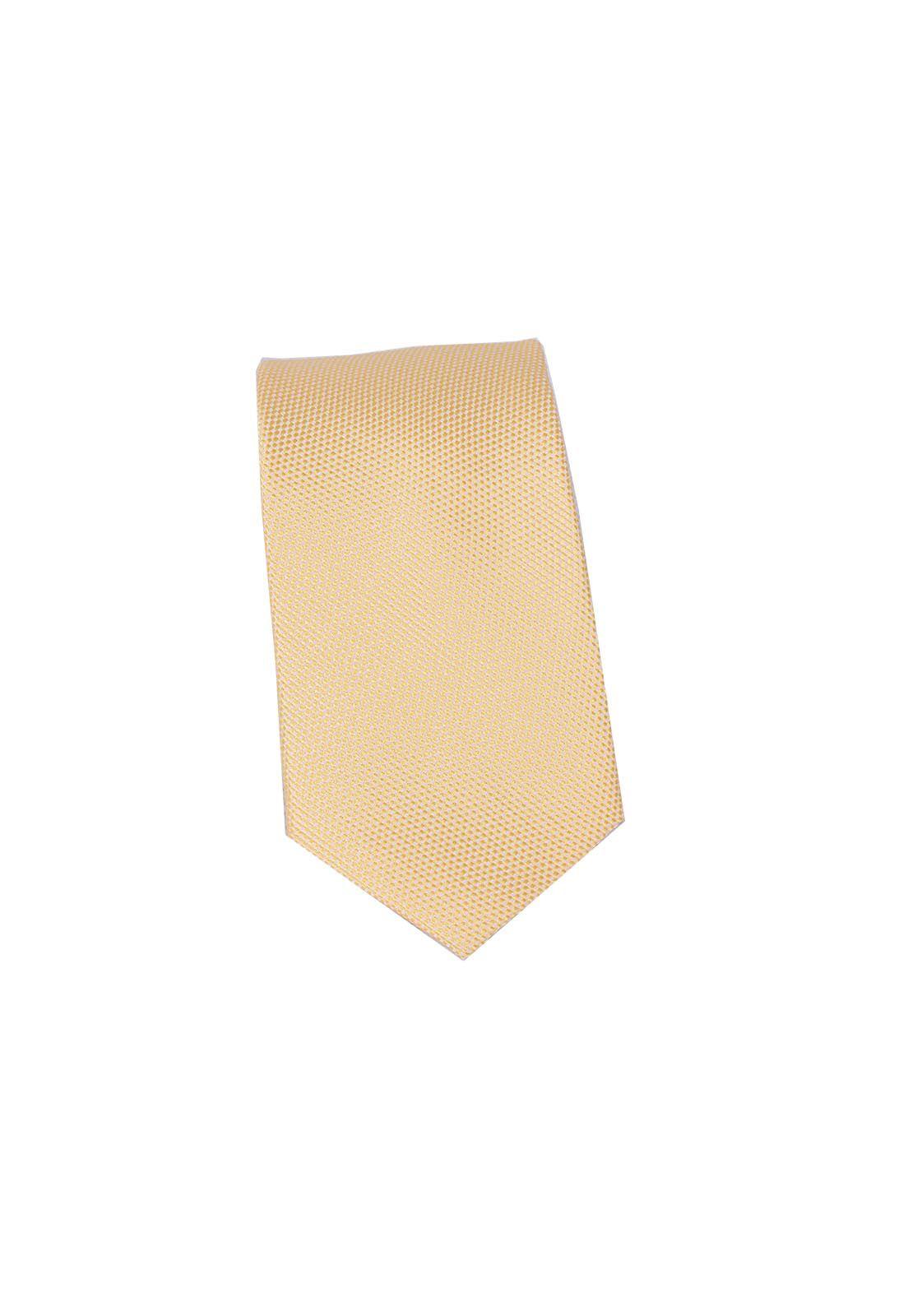 4031 - Gravata Slim Amarela - LEVOK